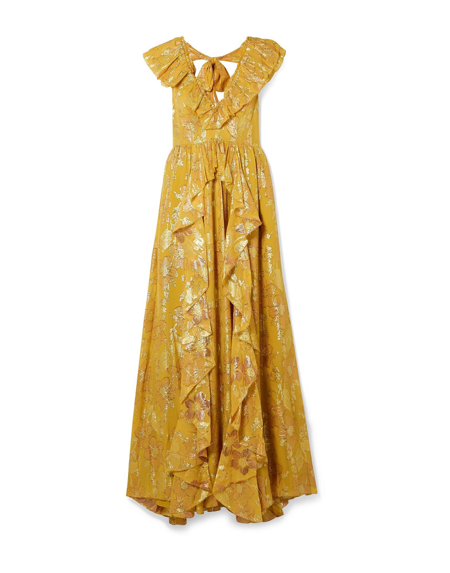 ULLA JOHNSON Длинное платье