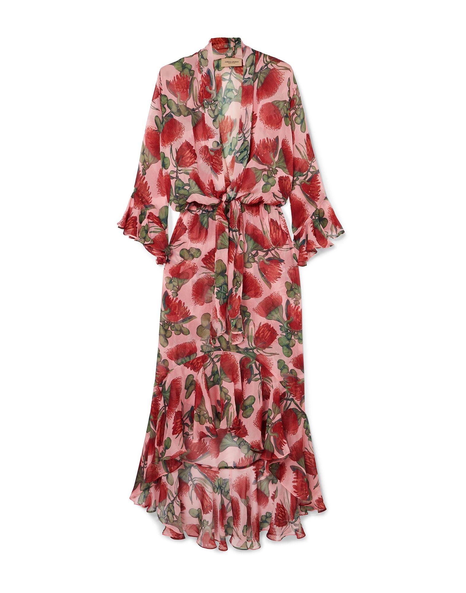 ADRIANA DEGREAS Длинное платье adriana degreas комбинезоны без бретелей