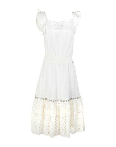 Фото - Платье длиной 3/4 от KORALLINE черного цвета