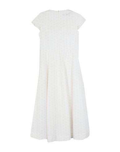 Фото 2 - Платье длиной 3/4 от BABÉL белого цвета