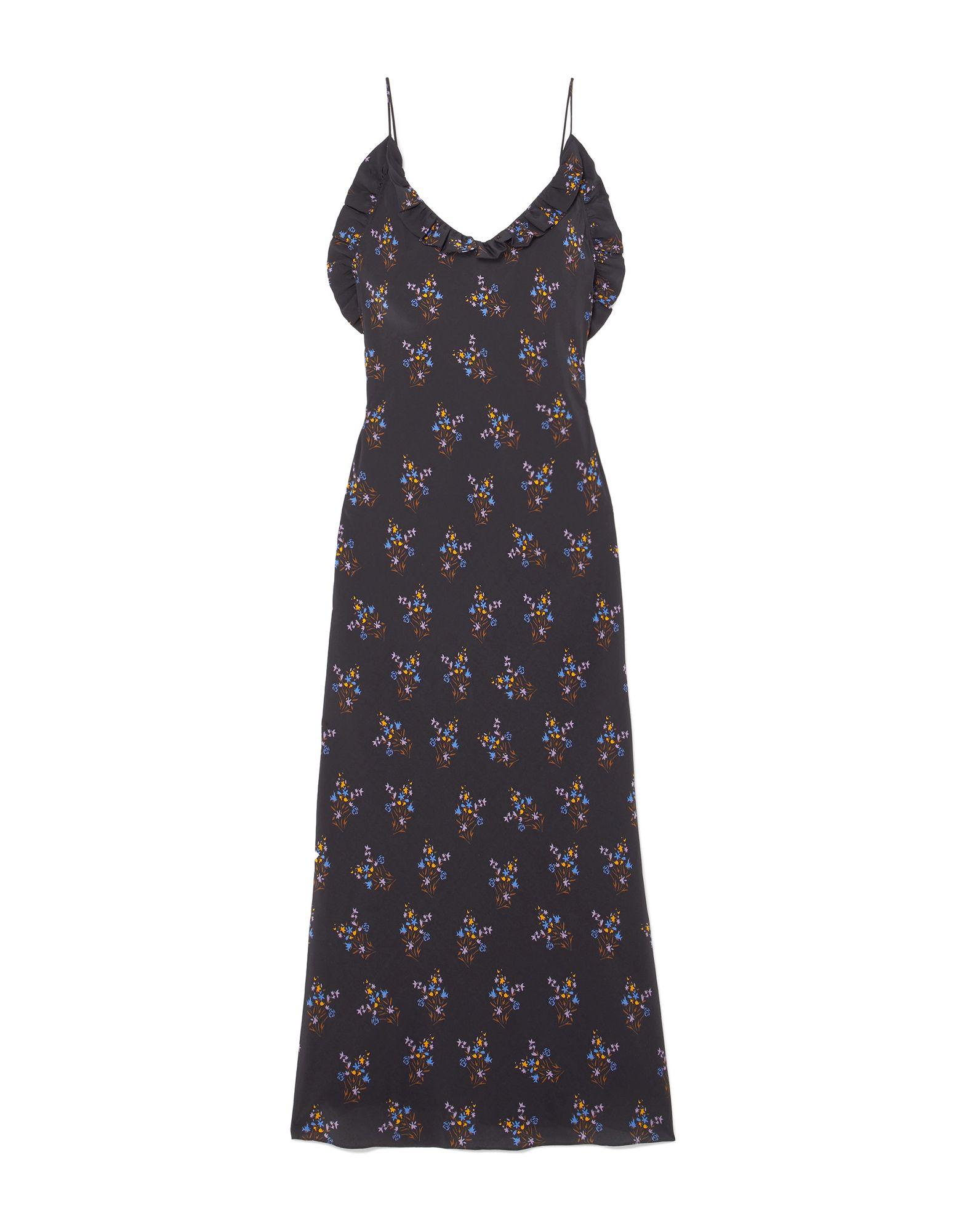 LES RÊVERIES Платье длиной 3/4 les hommes femme платье длиной 3 4