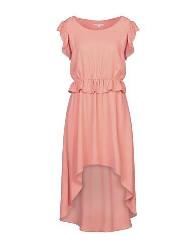 Фото - Женское короткое платье KORALLINE лососево-розового цвета