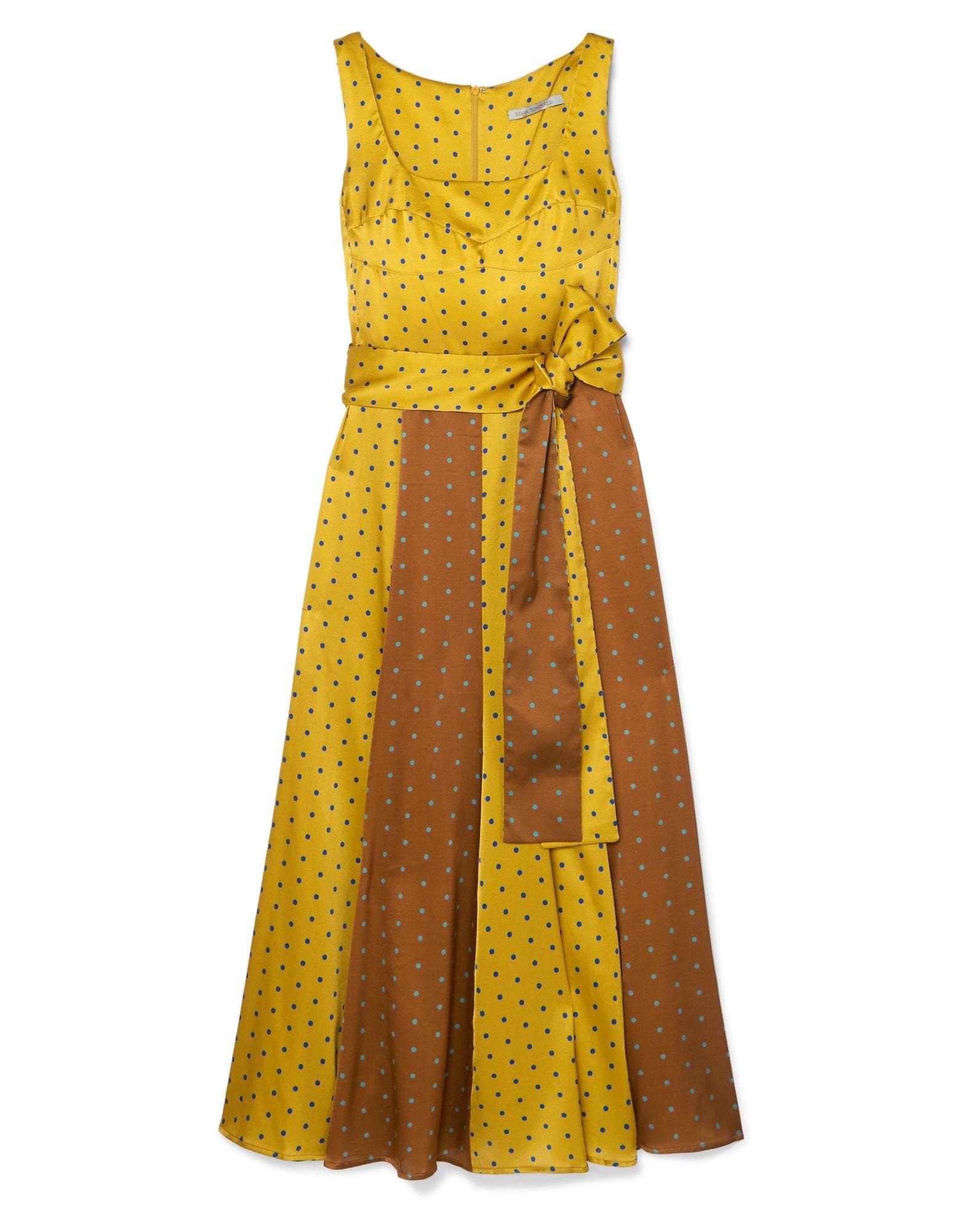 SILVIA TCHERASSI Длинное платье