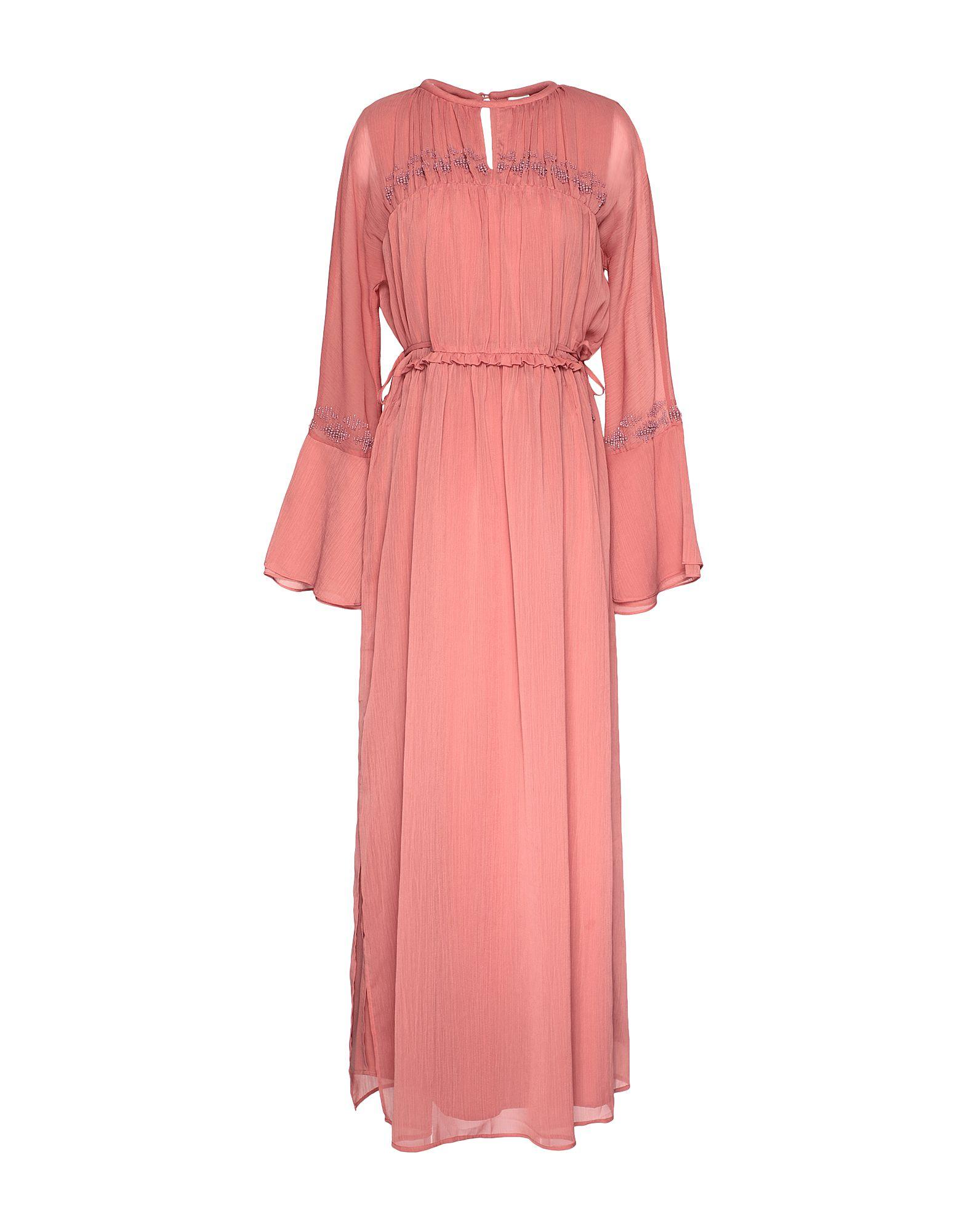 Красивое платье с шифоном в пол фото