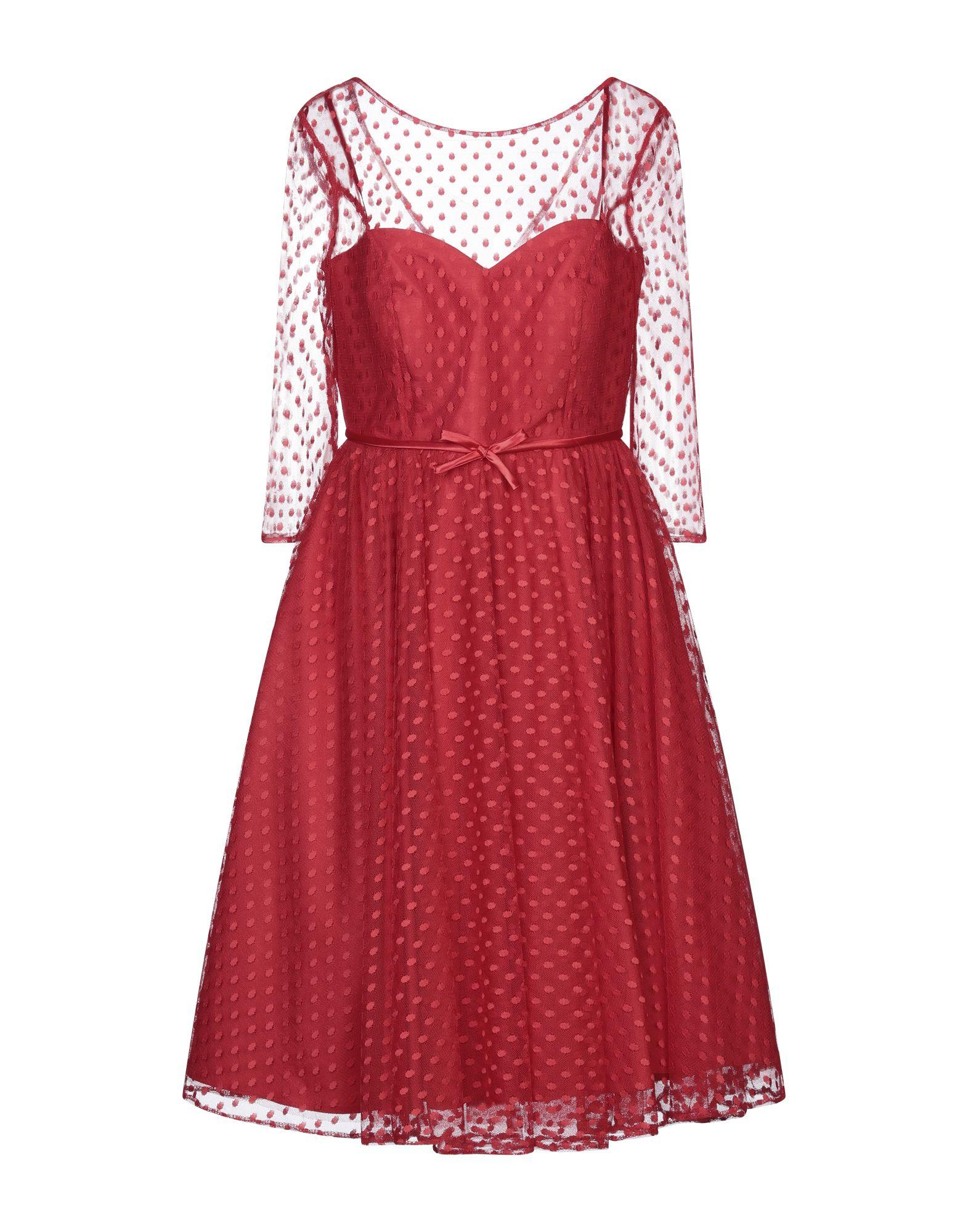 SÑ SONIA PEÑA Платье до колена
