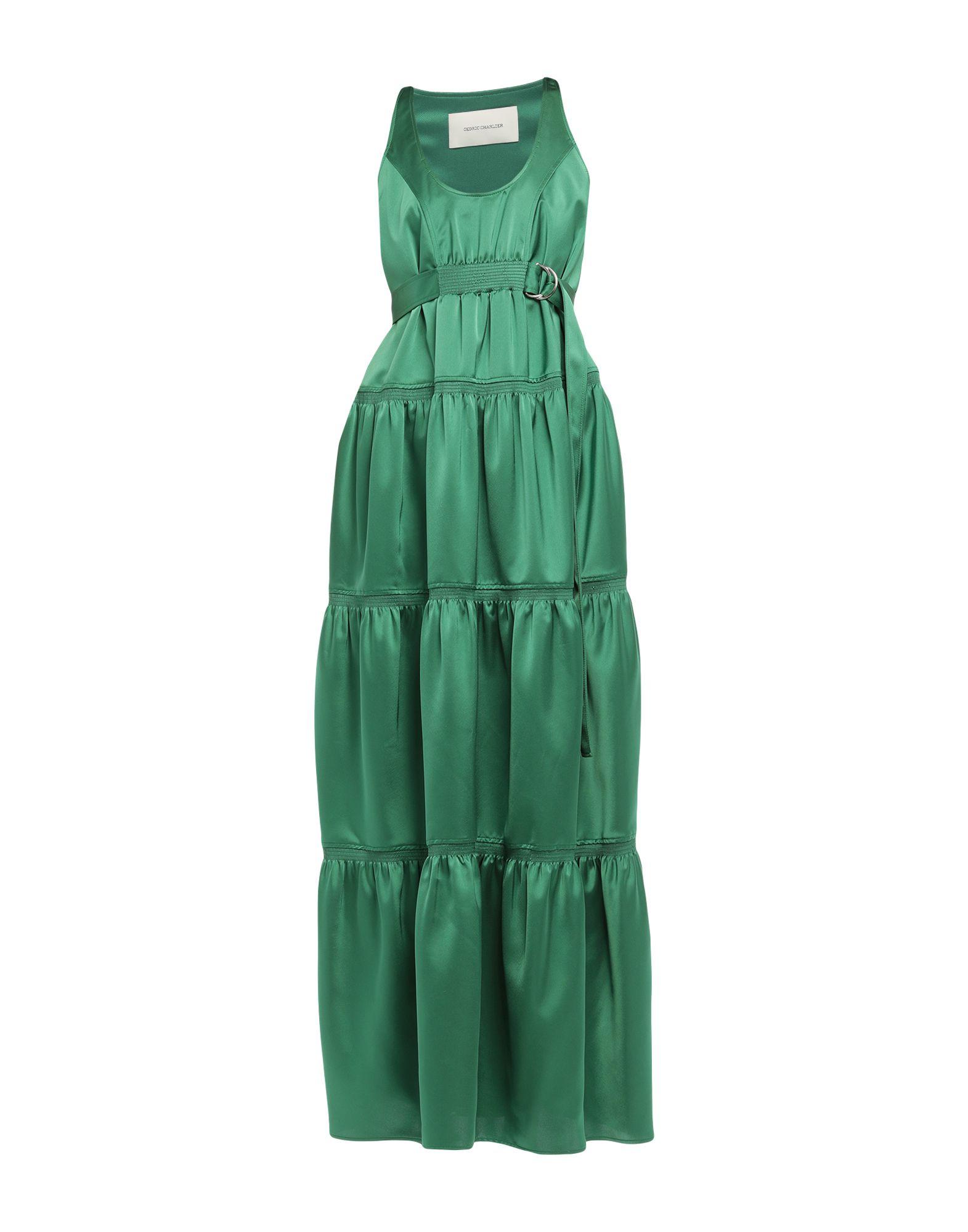 цена CEDRIC CHARLIER Длинное платье онлайн в 2017 году