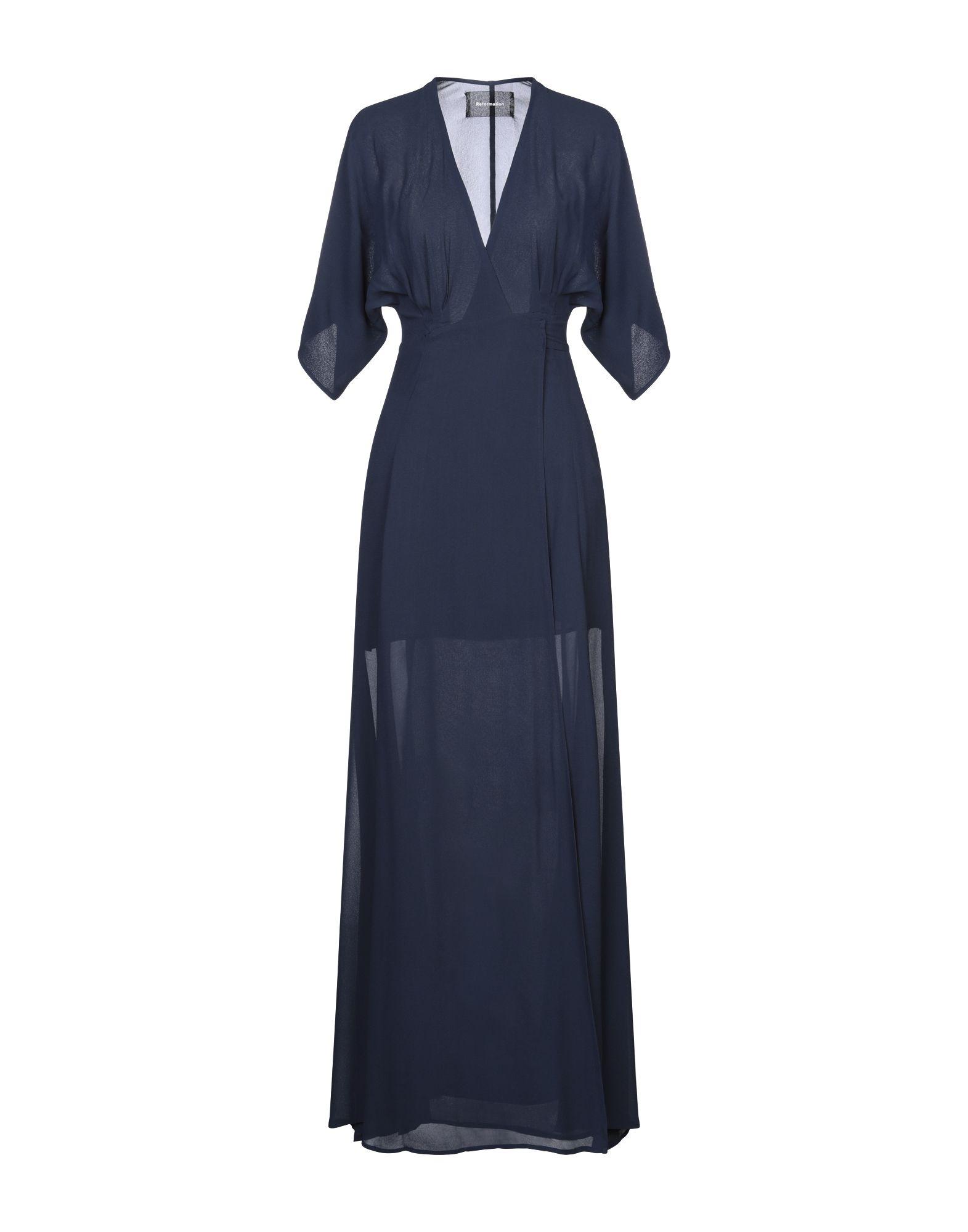 REFORMATION Длинное платье