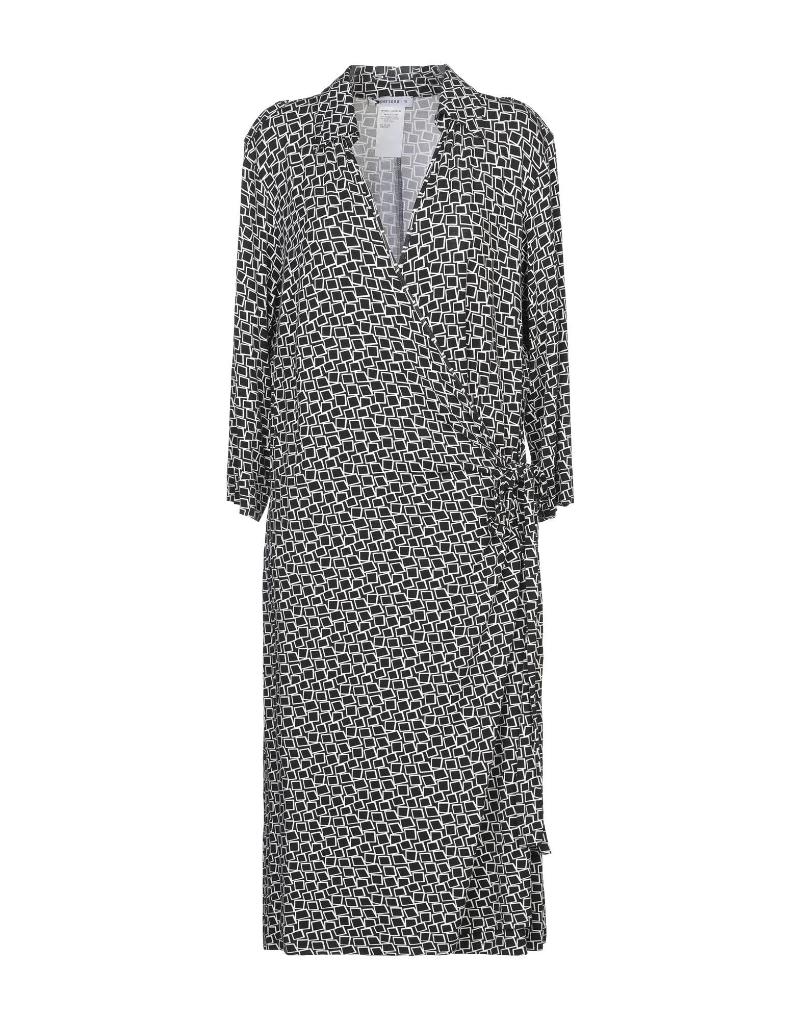 PERSONA Платье до колена пуловер джерси persona