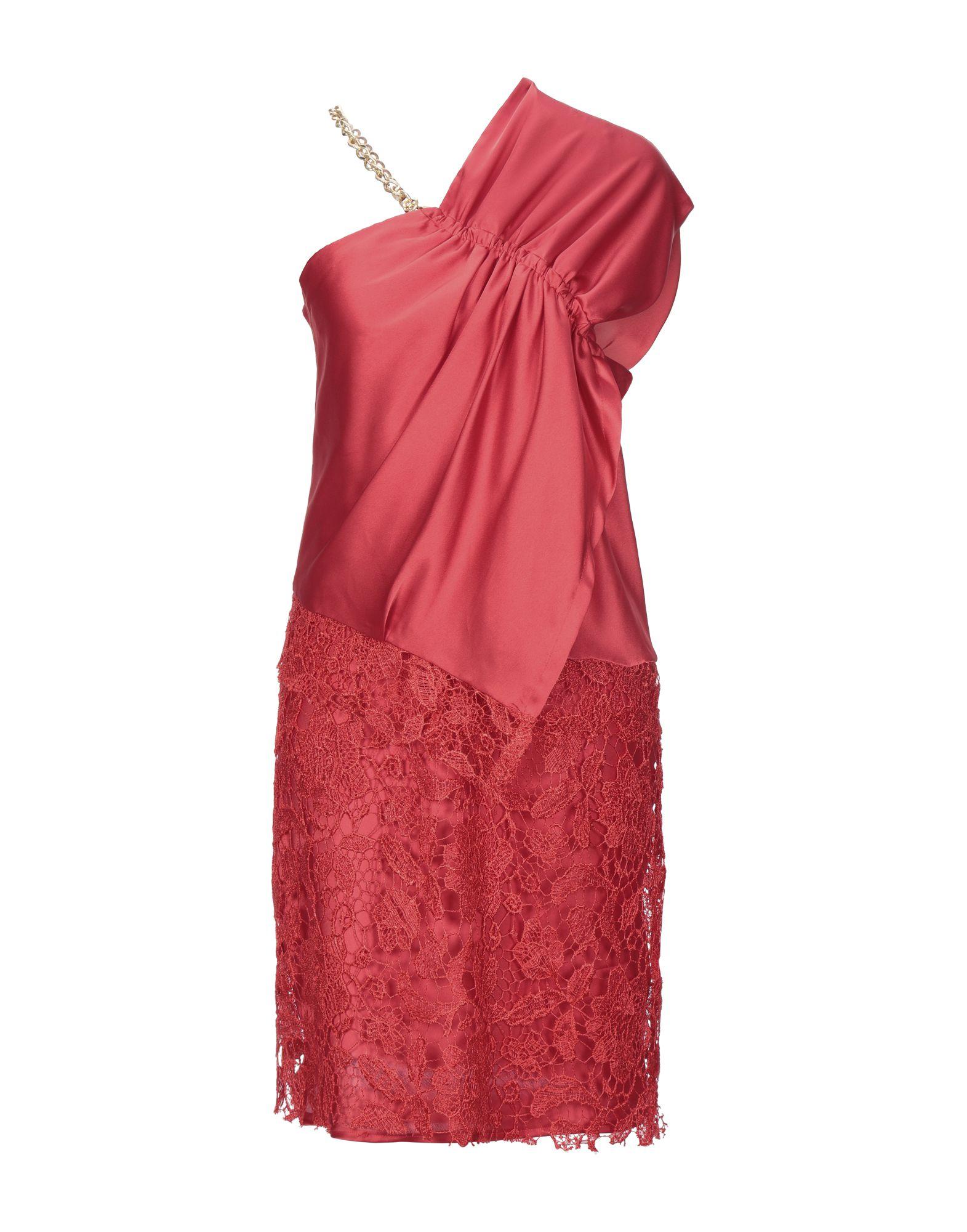 HEFTY Платье до колена платье коктейльное из одно плечо
