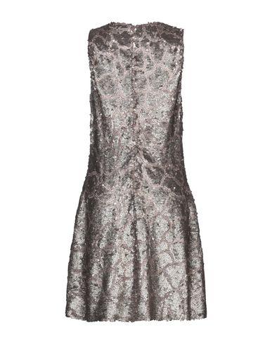 Фото 2 - Женское короткое платье SLY010 бронзового цвета