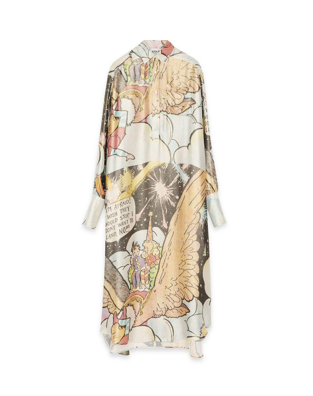 LITTLE NEMO PRINT SHIRT DRESS - Lanvin