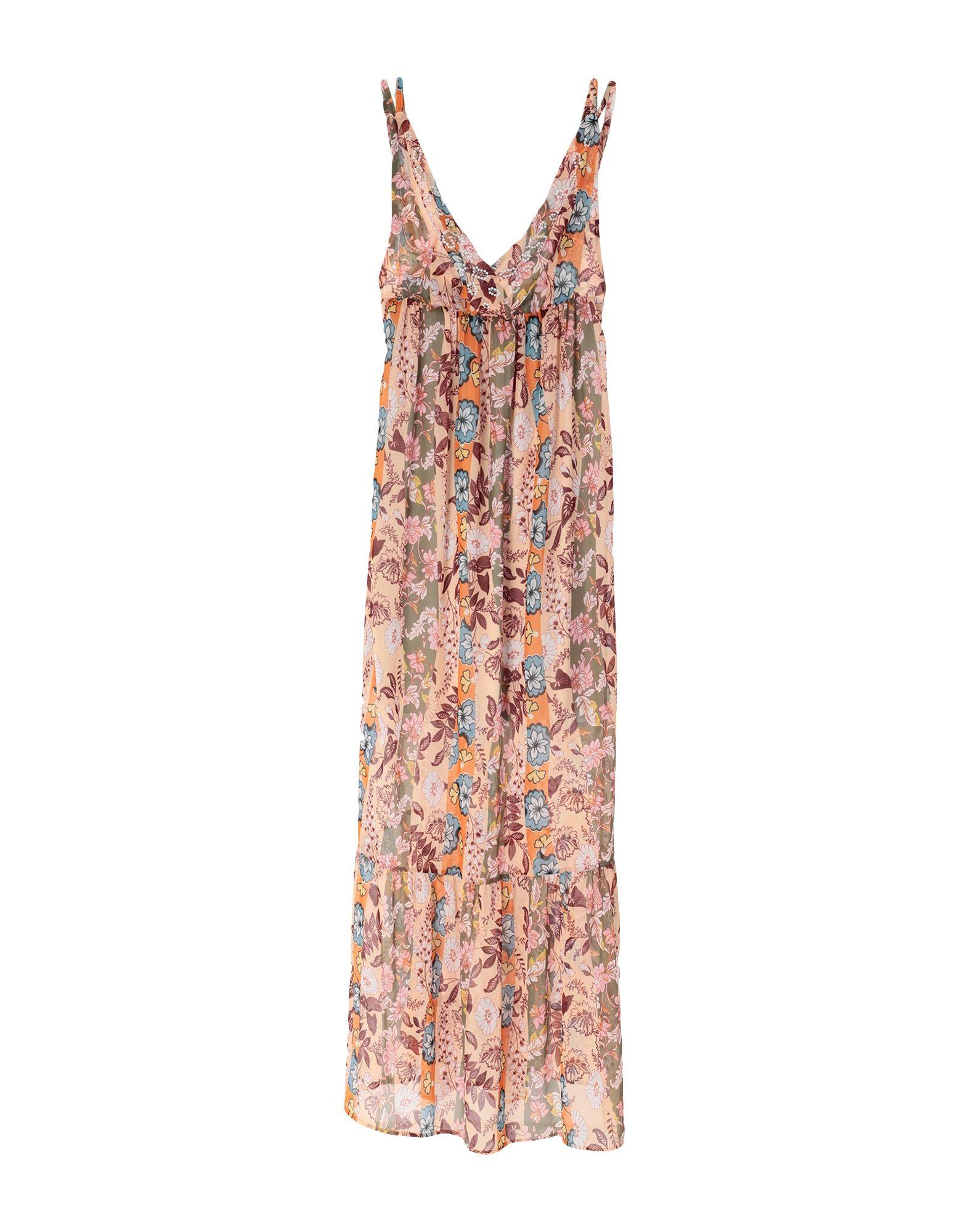 QUEGUAPA Длинное платье