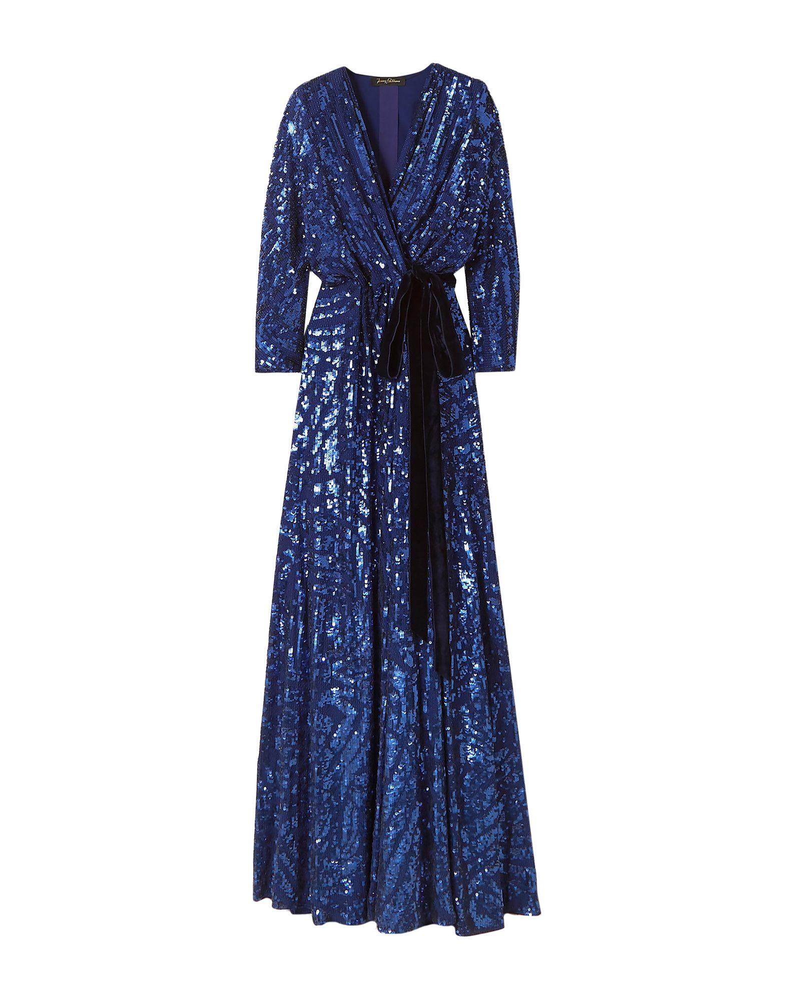 JENNY PACKHAM ジェニー・パッカム レディース ロングワンピース&ドレス ブルー