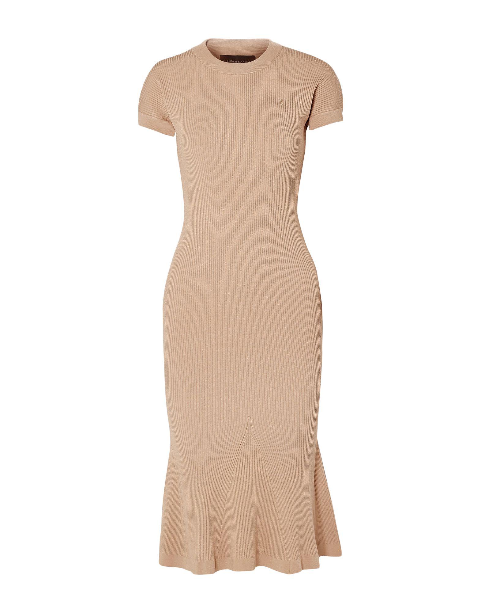 BRANDON MAXWELL Платье длиной 3/4 brandon flesher chasing shadows