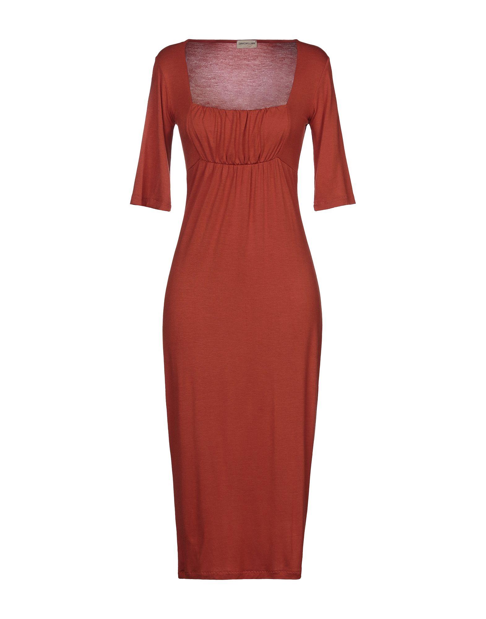 GRAZIA'LLIANI SOON Платье длиной 3/4 centoquattro платье длиной 3 4