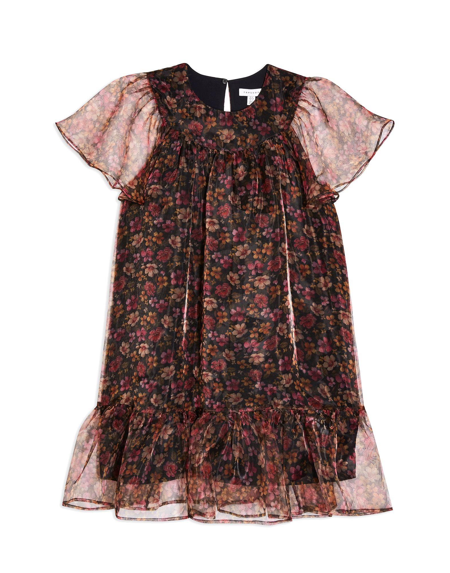 TOPSHOP Короткое платье джемпер topshop topshop to029ewgtxt3