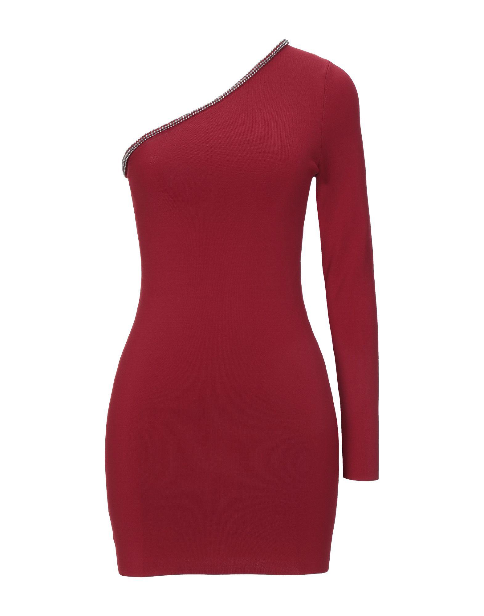 ALEXANDERWANG.T Короткое платье платье коктейльное из одно плечо