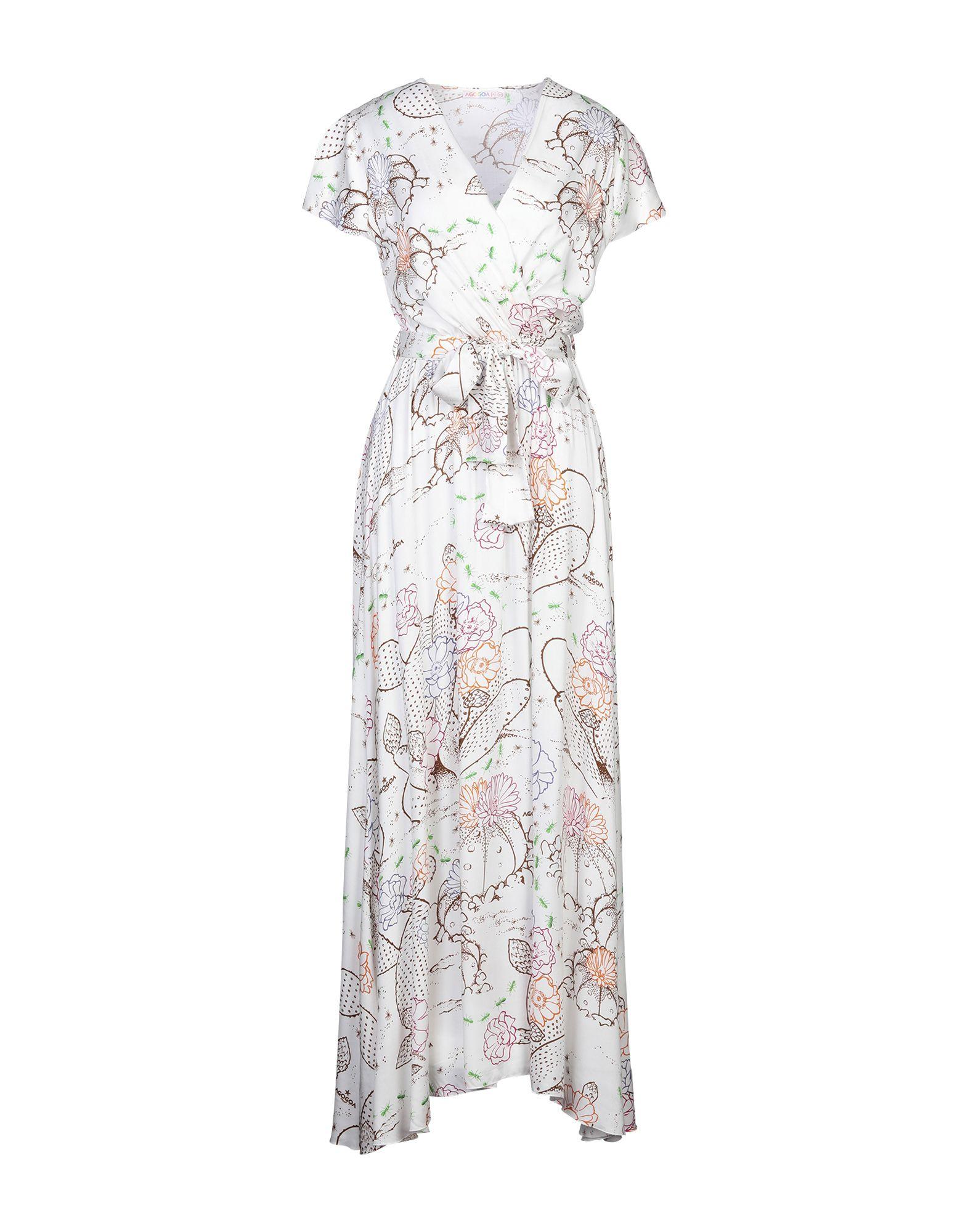 AGOGOA Длинное платье