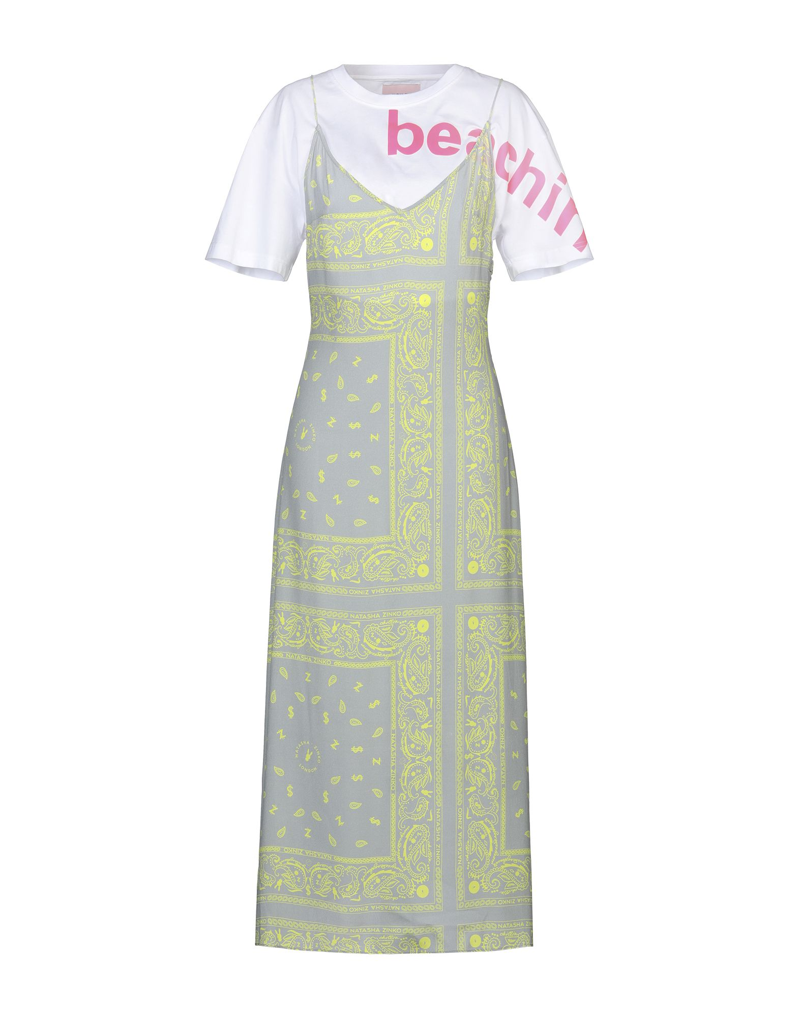 NATASHA ZINKO Длинное платье