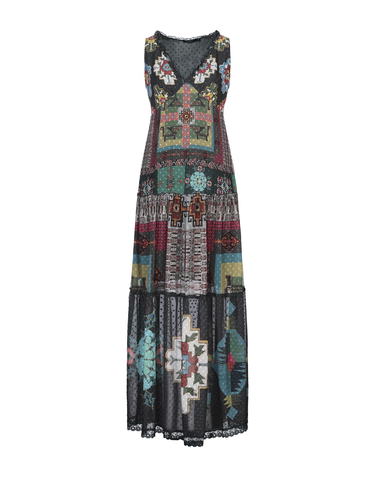 DESIGUAL Длинное платье цена 2017