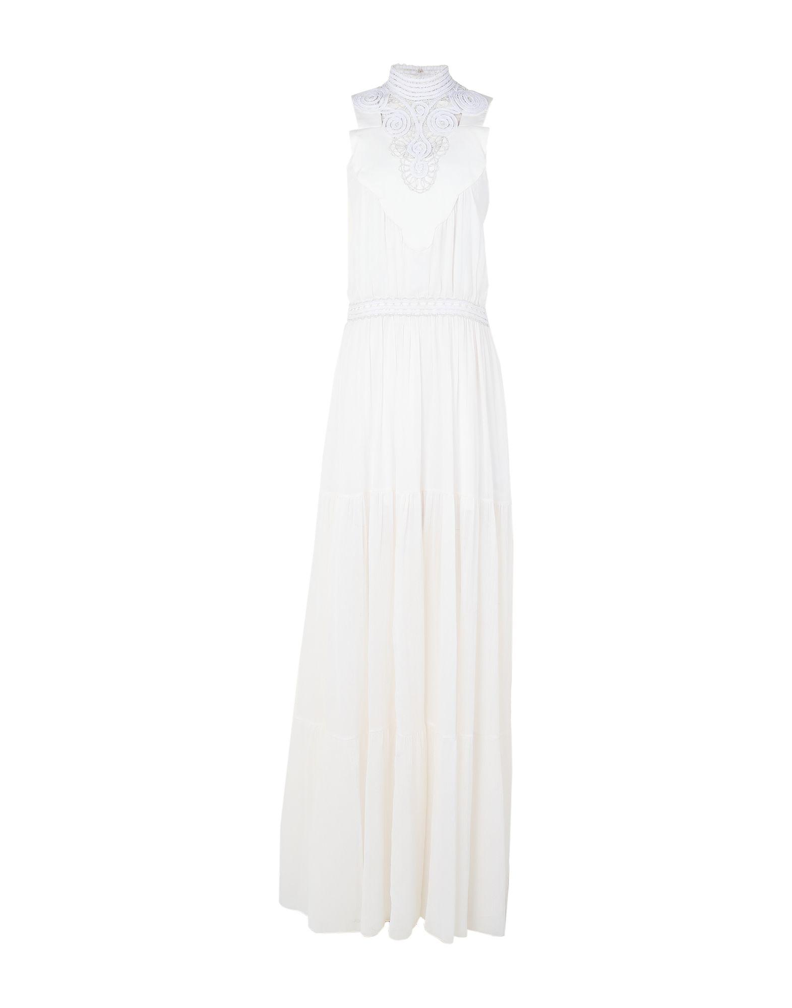 GENNY ジェニー レディース ロングワンピース&ドレス ホワイト
