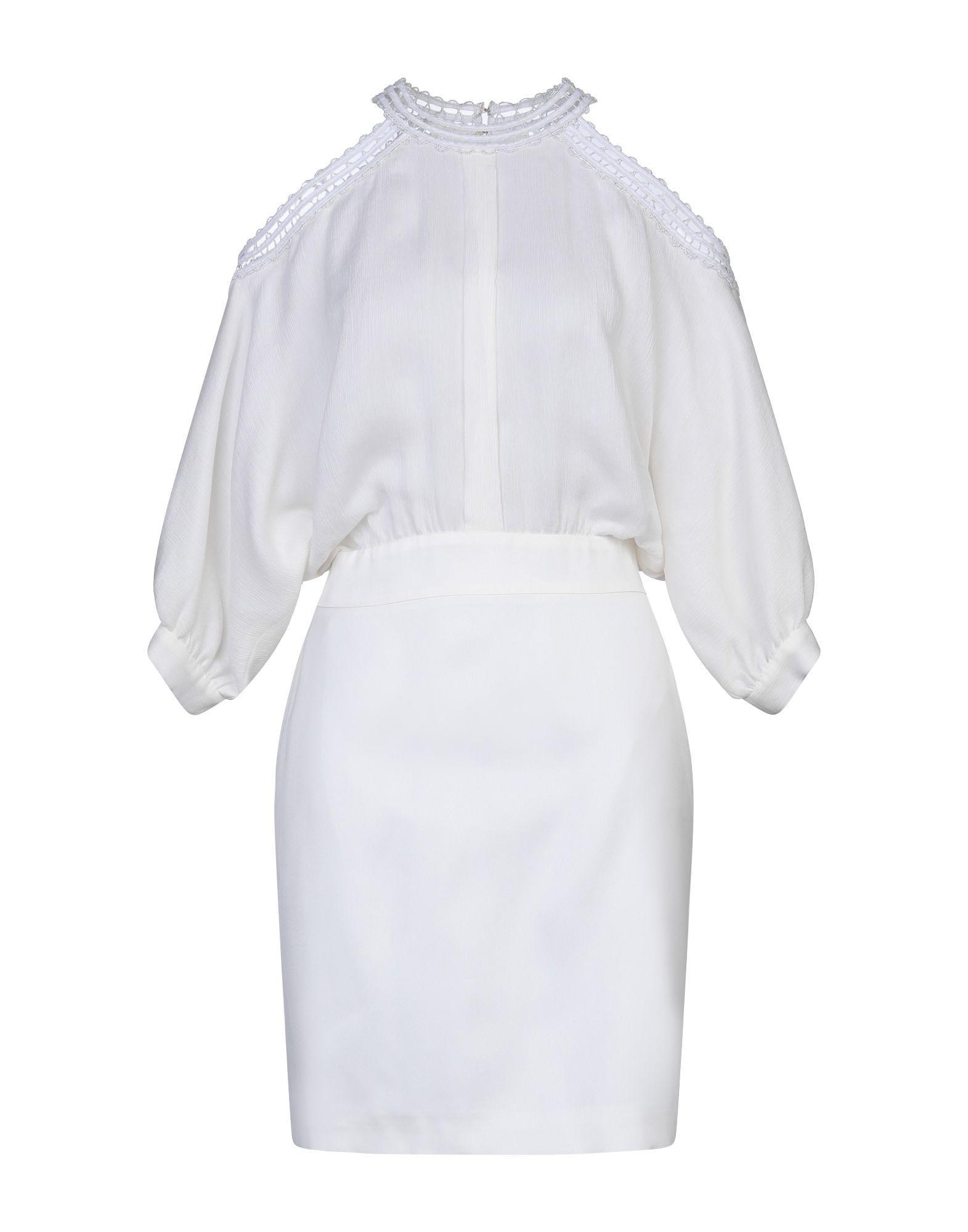 GENNY ジェニー レディース ミニワンピース&ドレス ホワイト