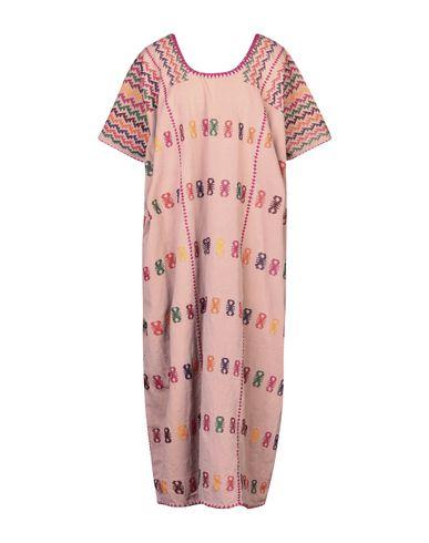 Фото - Женское длинное платье PIPPA HOLT пастельно-розового цвета