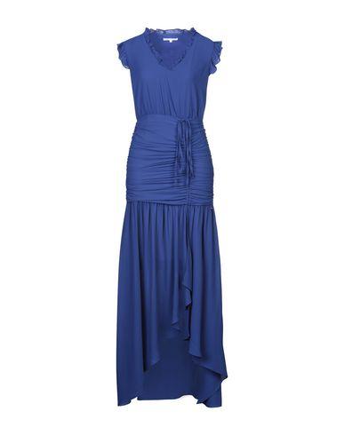 Фото - Женское длинное платье KORALLINE синего цвета