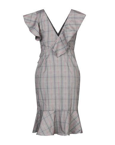 Фото 2 - Платье до колена от CUBIC цвета хаки