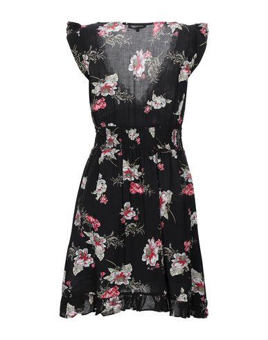 Фото 2 - Женское короткое платье KORALLINE черного цвета