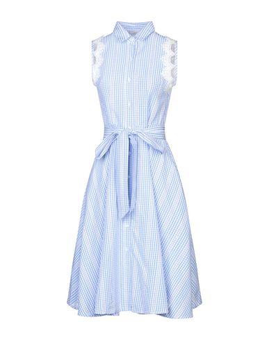 Фото - Платье до колена от CUBIC лазурного цвета