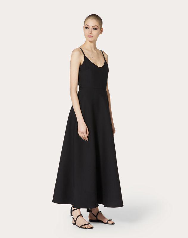 Robe en crêpe couture