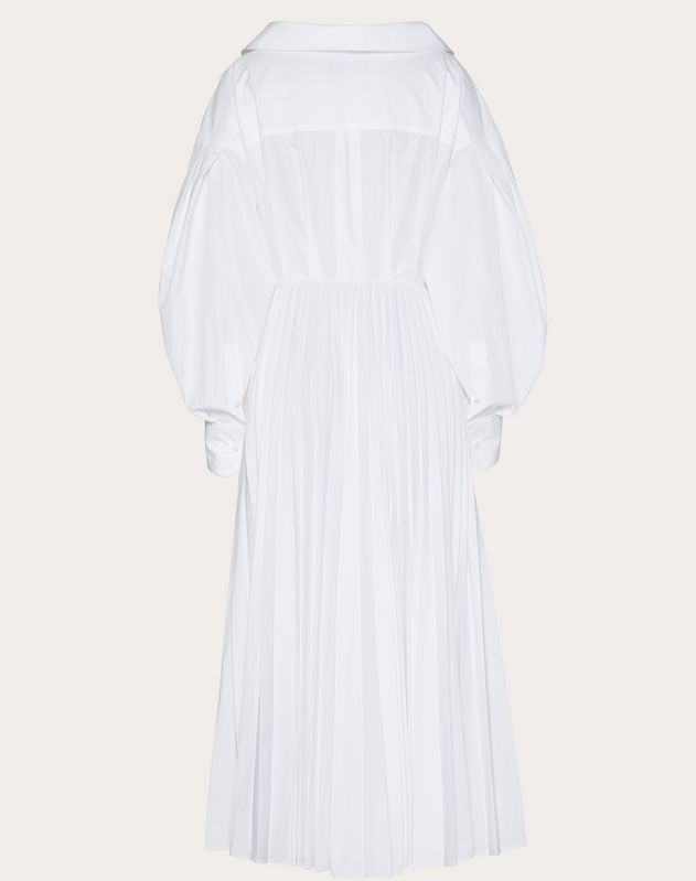 Technical Poplin Dress