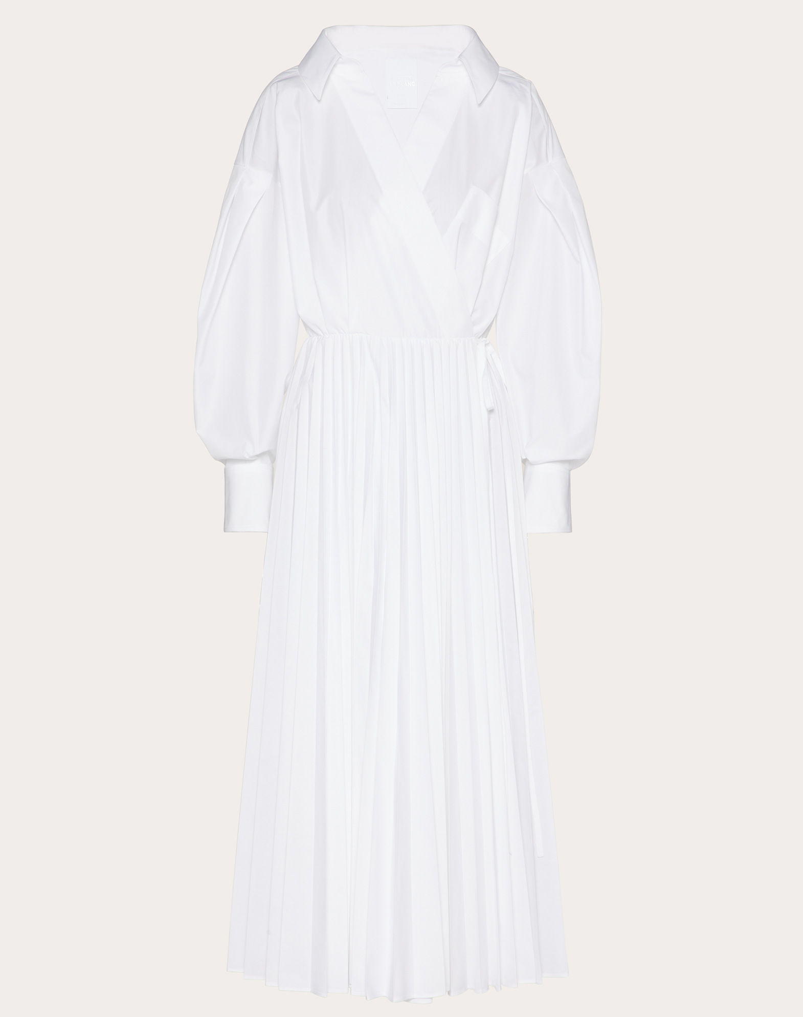 Technical Poplin Dress