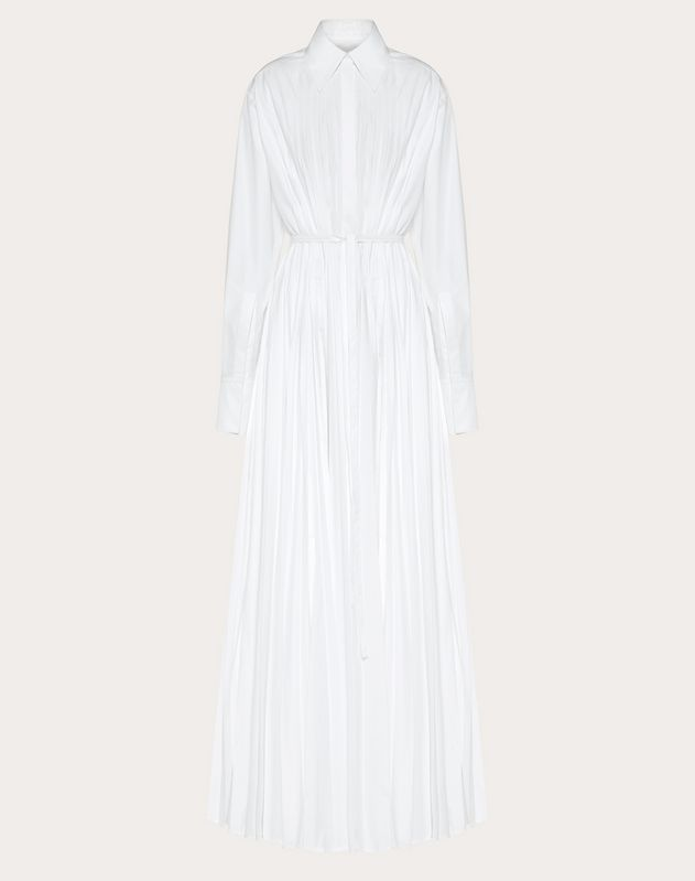 Technical Poplin evening Dress