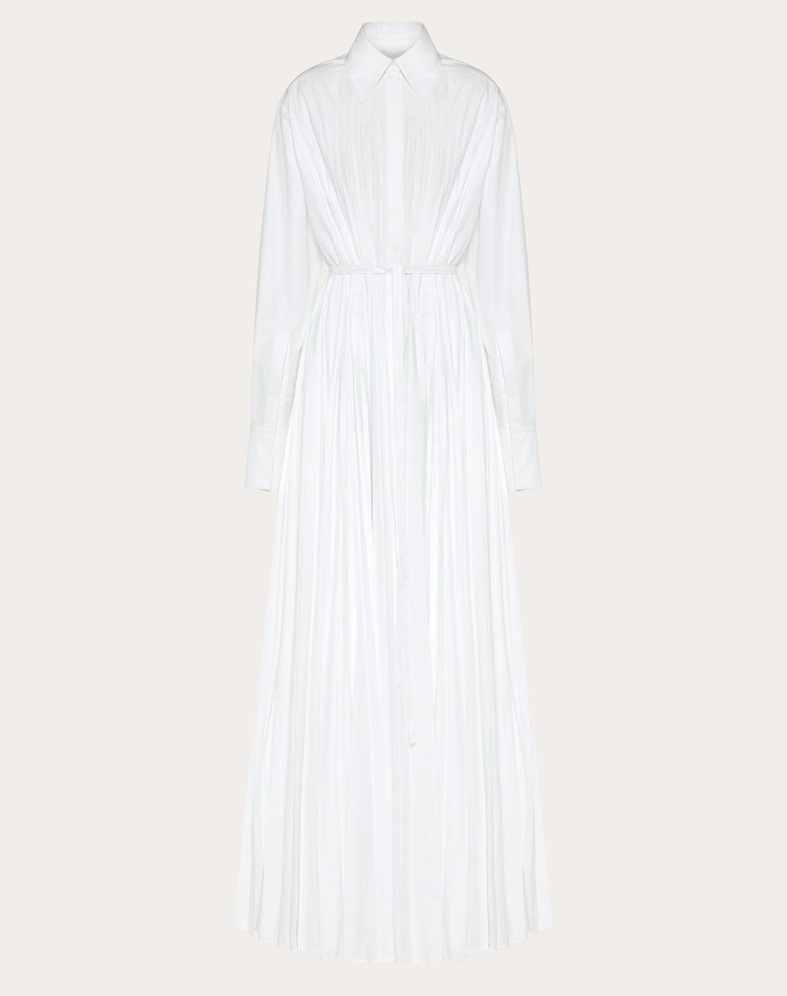 Technical Poplin evening Dress