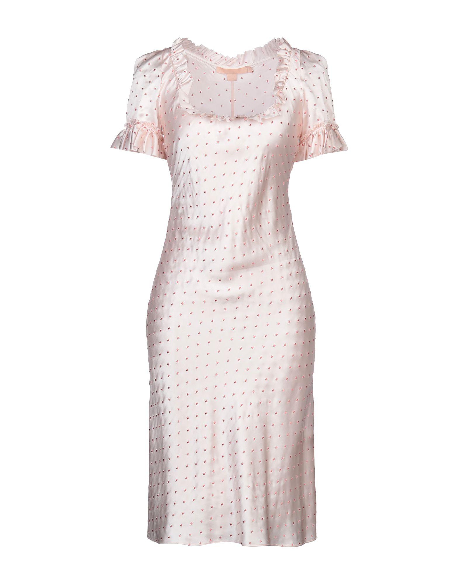 BROCK COLLECTION Платье до колена цена 2017
