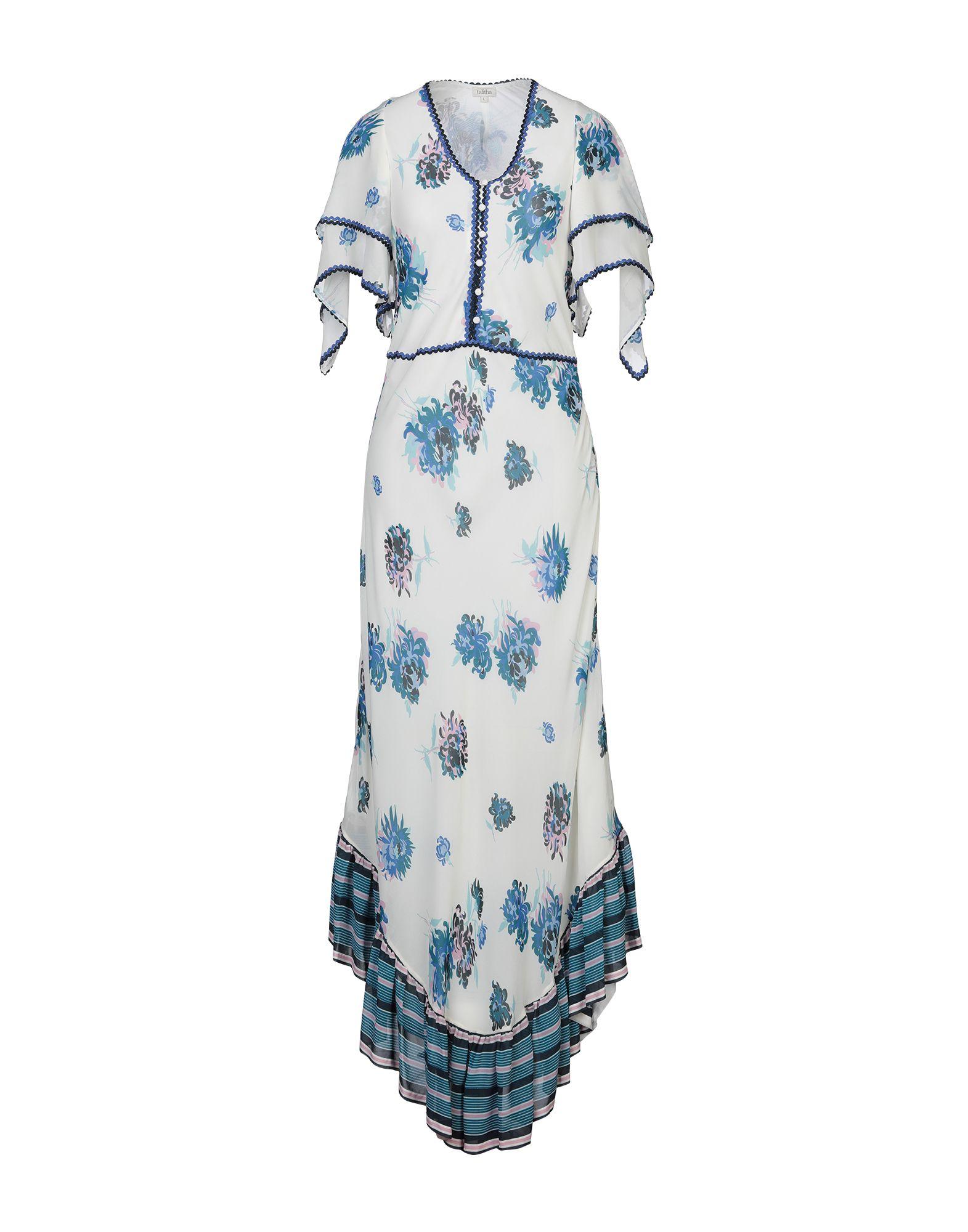 TALITHA Длинное платье talitha пляжное платье