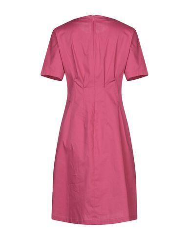 Фото 2 - Женское короткое платье BLANCA LUZ цвета фуксия