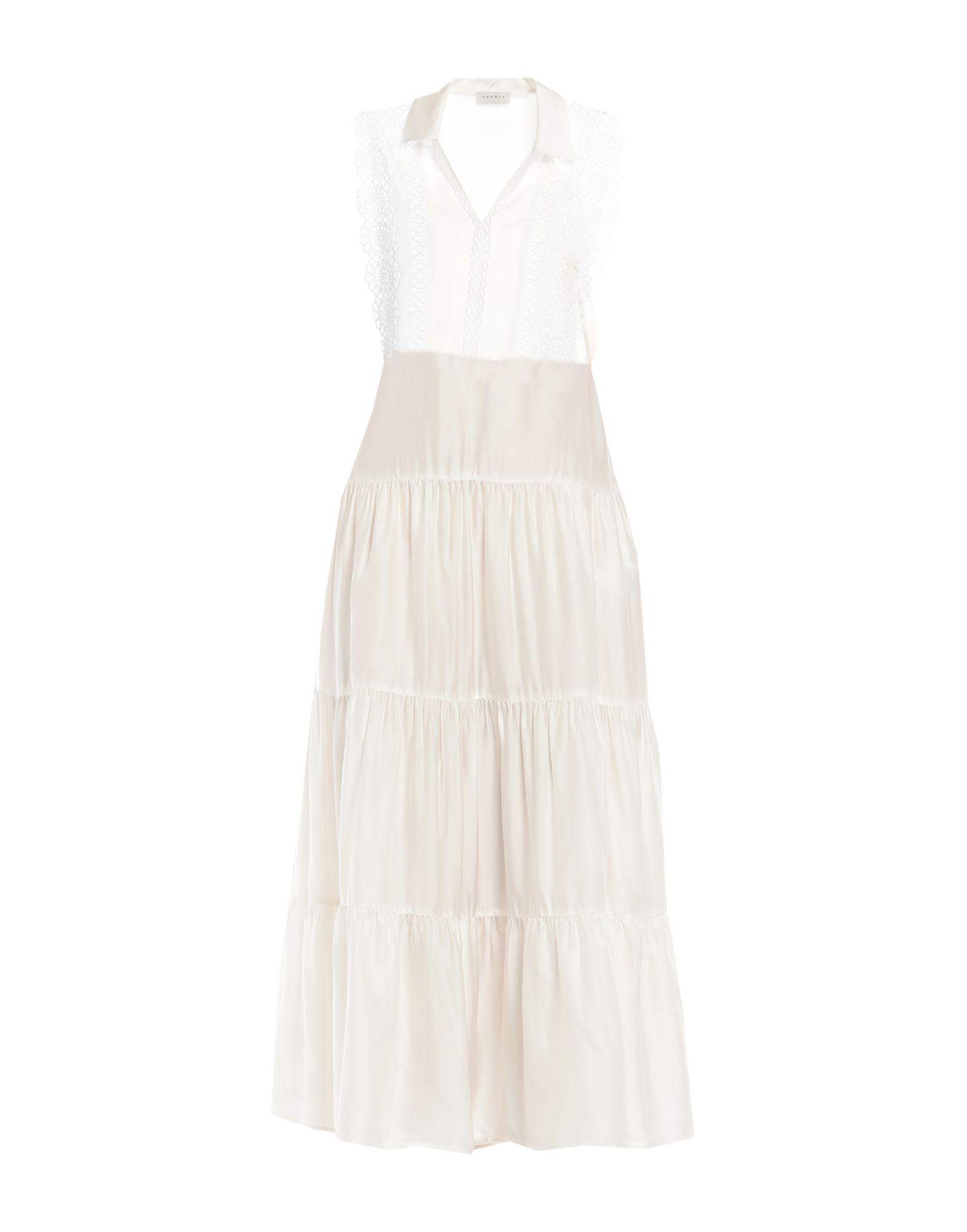 SANDRO Длинное платье