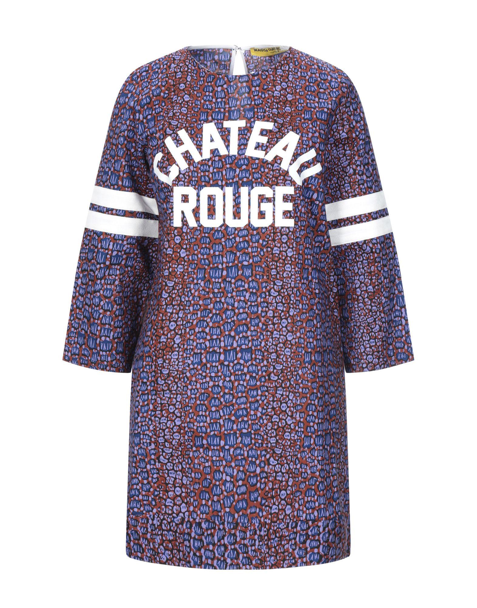 MAISON CHÂTEAU ROUGE Короткое платье