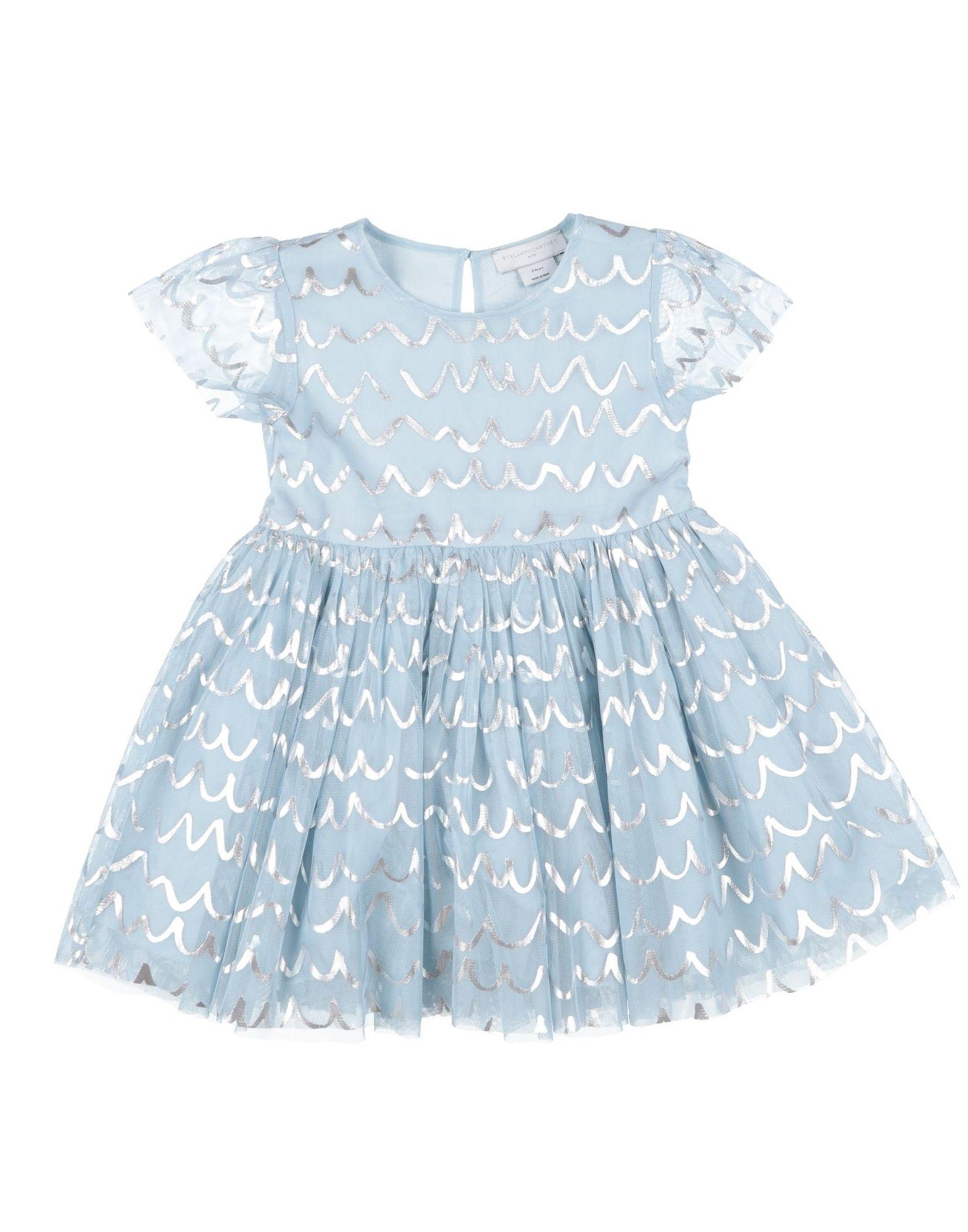 《セール開催中》STELLA McCARTNEY KIDS ガールズ 3-8 歳 ワンピース&ドレス スカイブルー 8 ポリエステル 100%