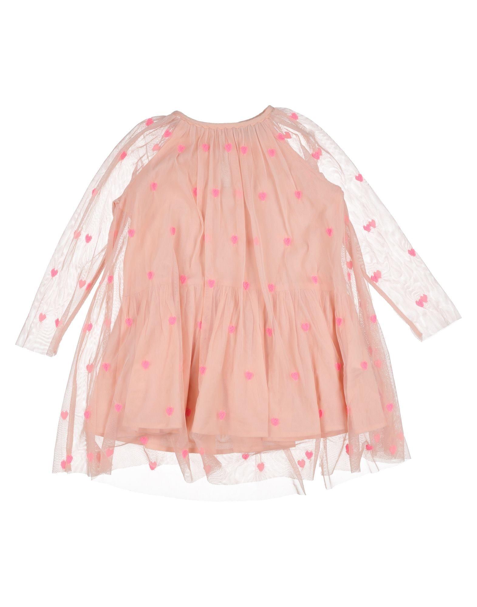 《セール開催中》STELLA McCARTNEY KIDS ガールズ 3-8 歳 ワンピース&ドレス ピンク 3 ポリエステル 100%