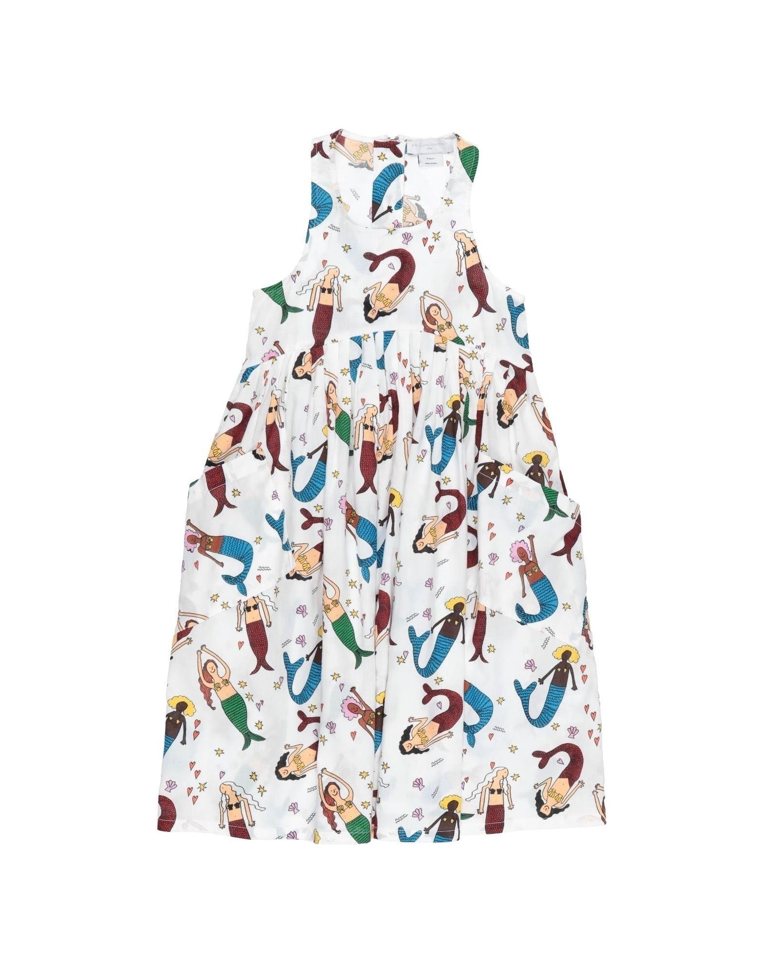 《セール開催中》STELLA McCARTNEY KIDS ガールズ 9-16 歳 ワンピース&ドレス ホワイト 12 コットン 100%