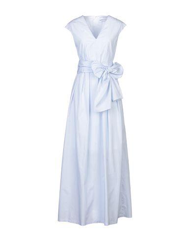 Фото - Женское длинное платье GIORGIO GRATI небесно-голубого цвета