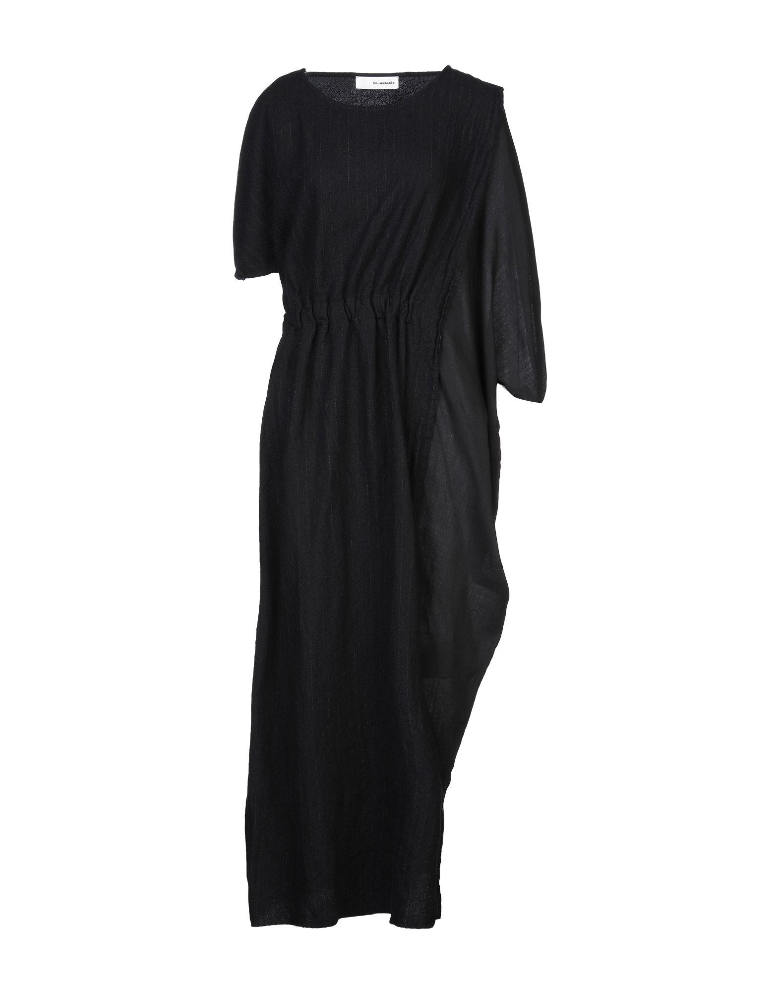 UN-NAMABLE Длинное платье un namable платье до колена
