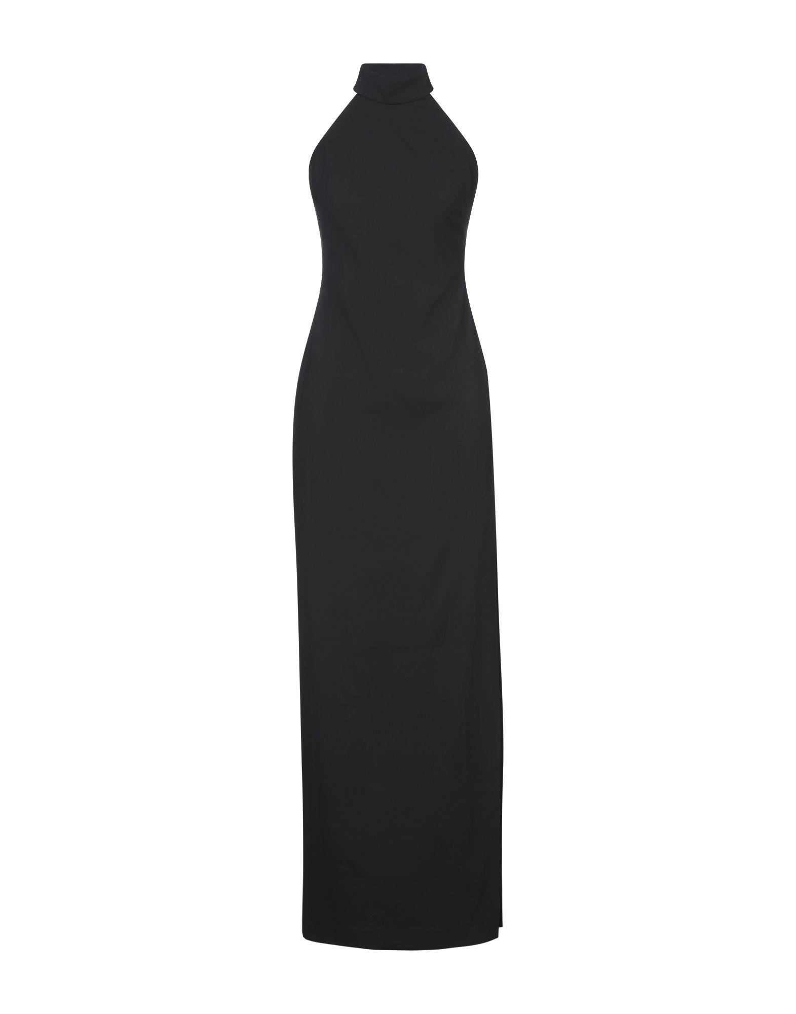 《セール開催中》BADGLEY MISCHKA レディース ロングワンピース&ドレス ブラック 4 ポリエステル 98% / ポリウレタン 2%