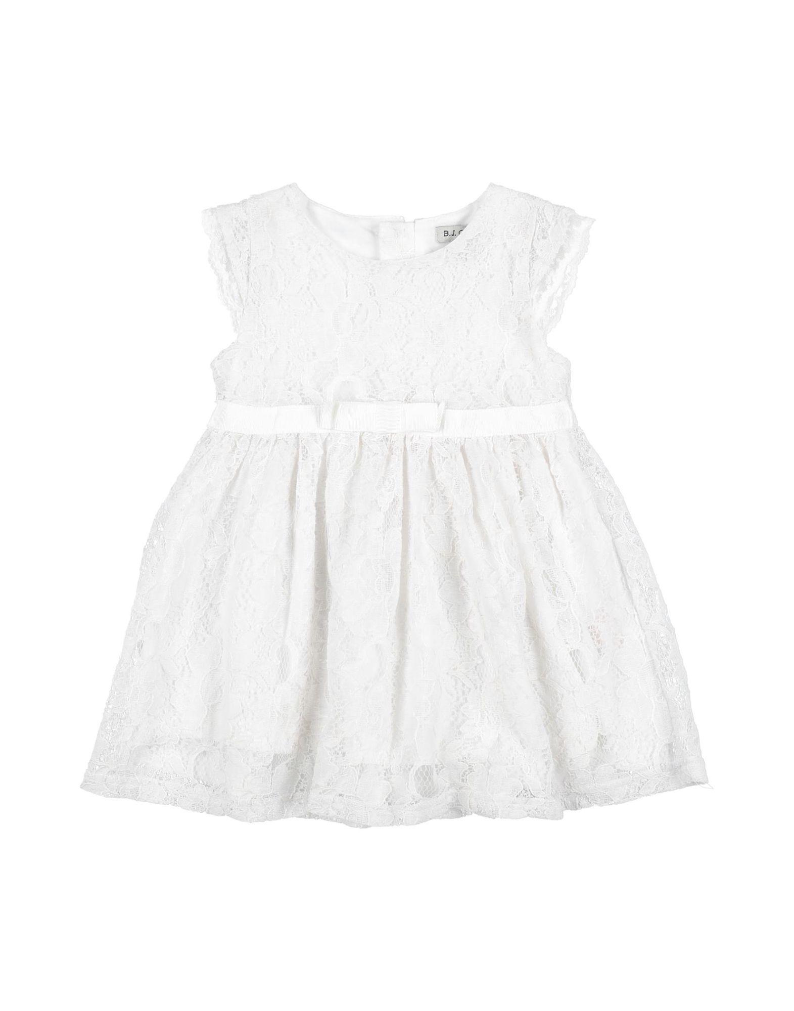B.j.charles Kids' Dresses In White