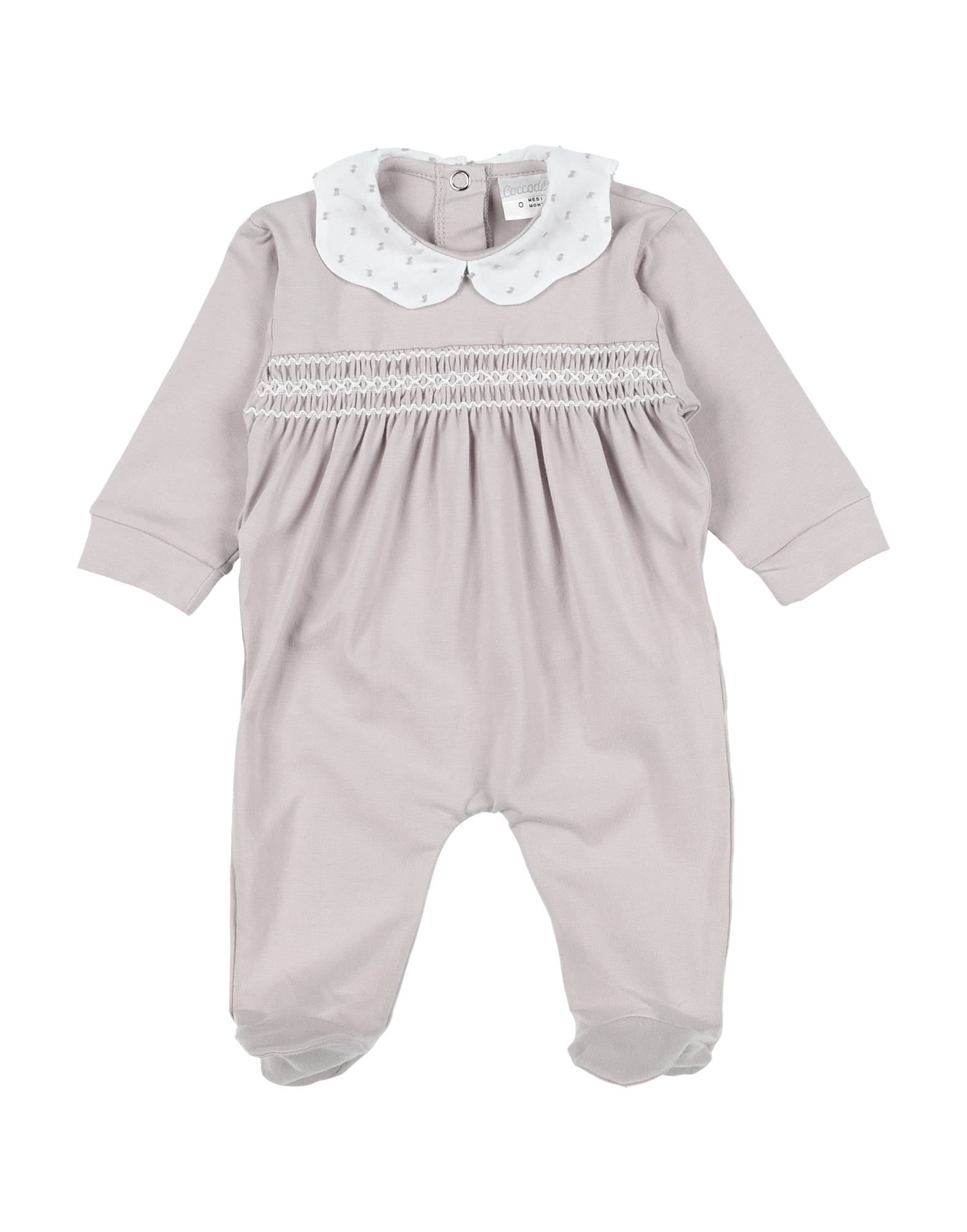 YOOX.COM(ユークス)《セール開催中》COCCOD? ガールズ 0-24 ヶ月 乳幼児用ロンパース ライトブラウン 0 コットン 95% / ポリウレタン 5%