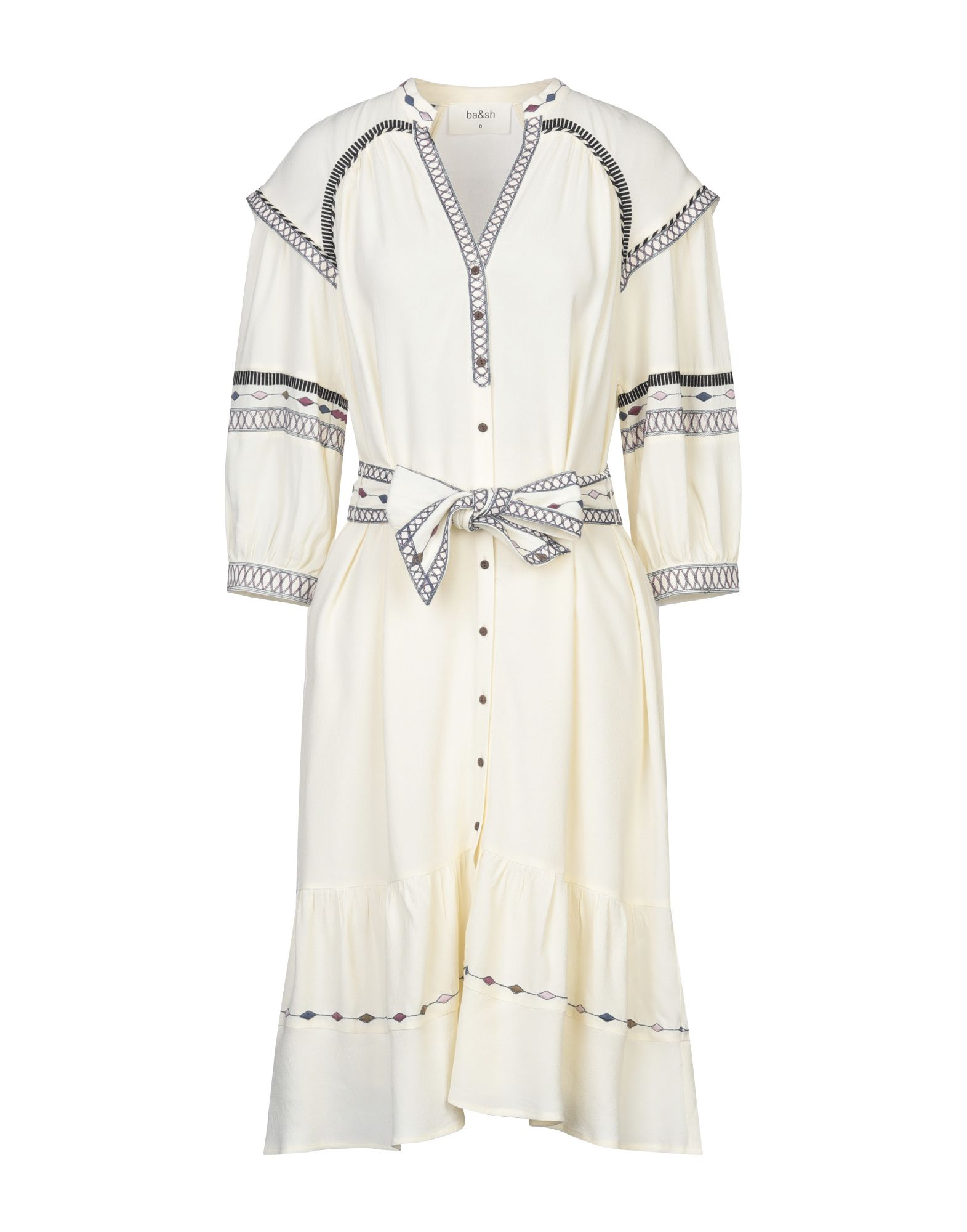 BA&SH Платье до колена платье sh sh sh021ewgtga5